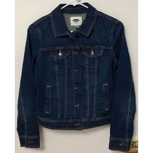 Old Navy Dark Denim Jacket